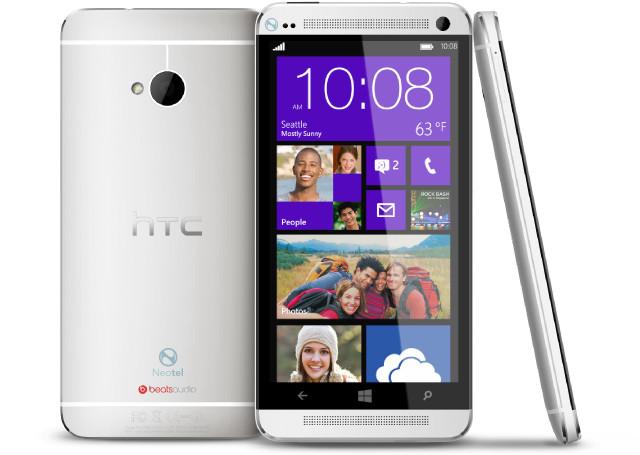 HTC One în variantă Windows Phone