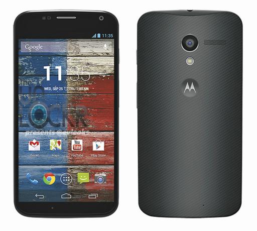 Motorola Moto X apare în prima imagine de presă