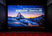 3D Cinema LED