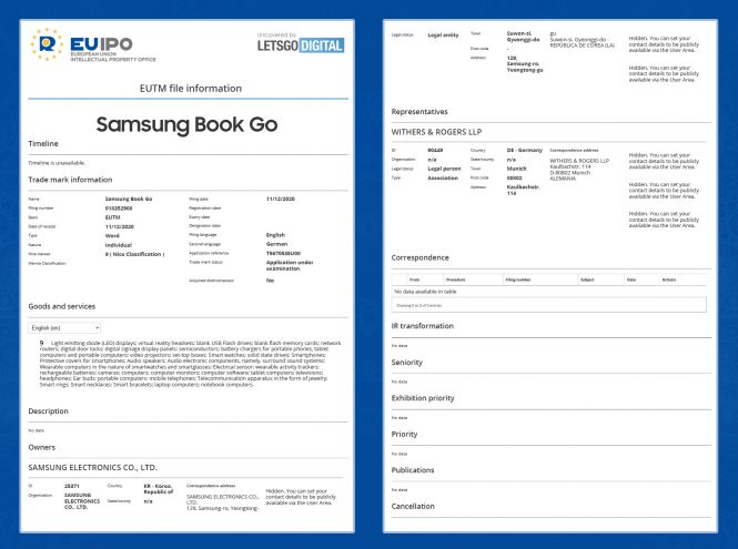Samsung Book Go
