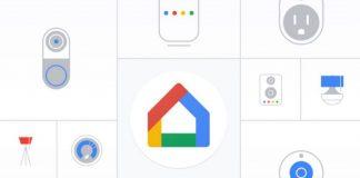 aplicația Google Home