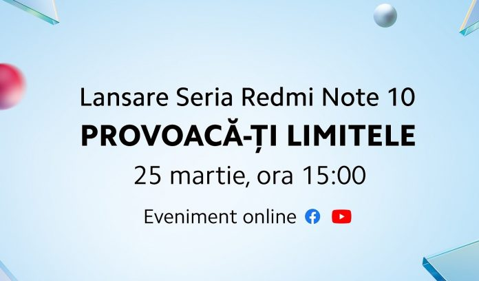Seria Redmi Note 10