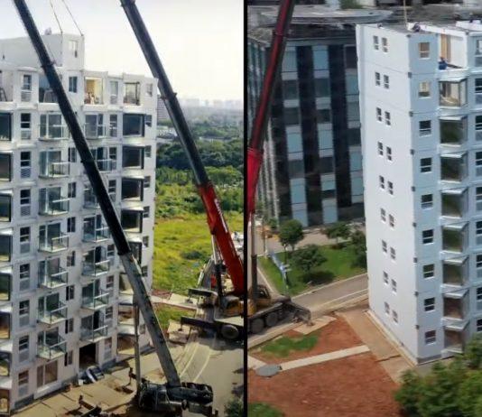bloc cu 10 etaje