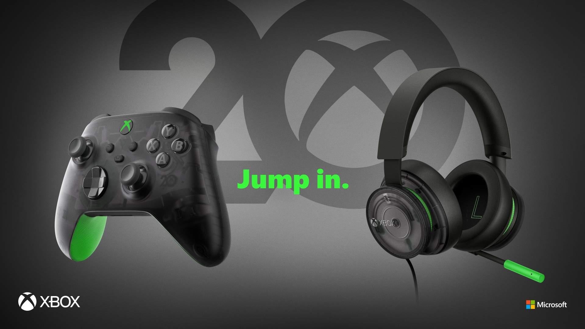 Xbox aniversează 20 de ani de la apariție; Microsoft lansează accesorii în ediție specială cu această ocazie thumbnail